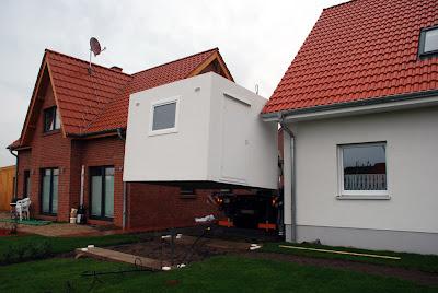 bautagebuch m hle garage steht und auto ist drin. Black Bedroom Furniture Sets. Home Design Ideas