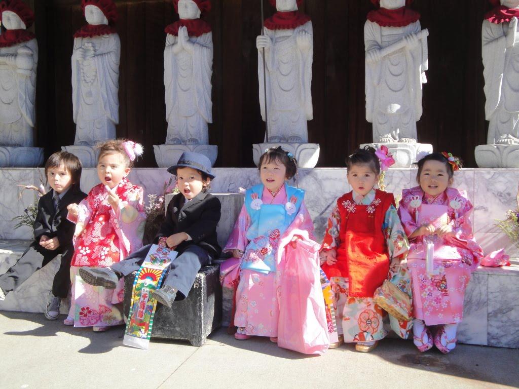 shichi go san Festival Shichi-go-san nippon japon