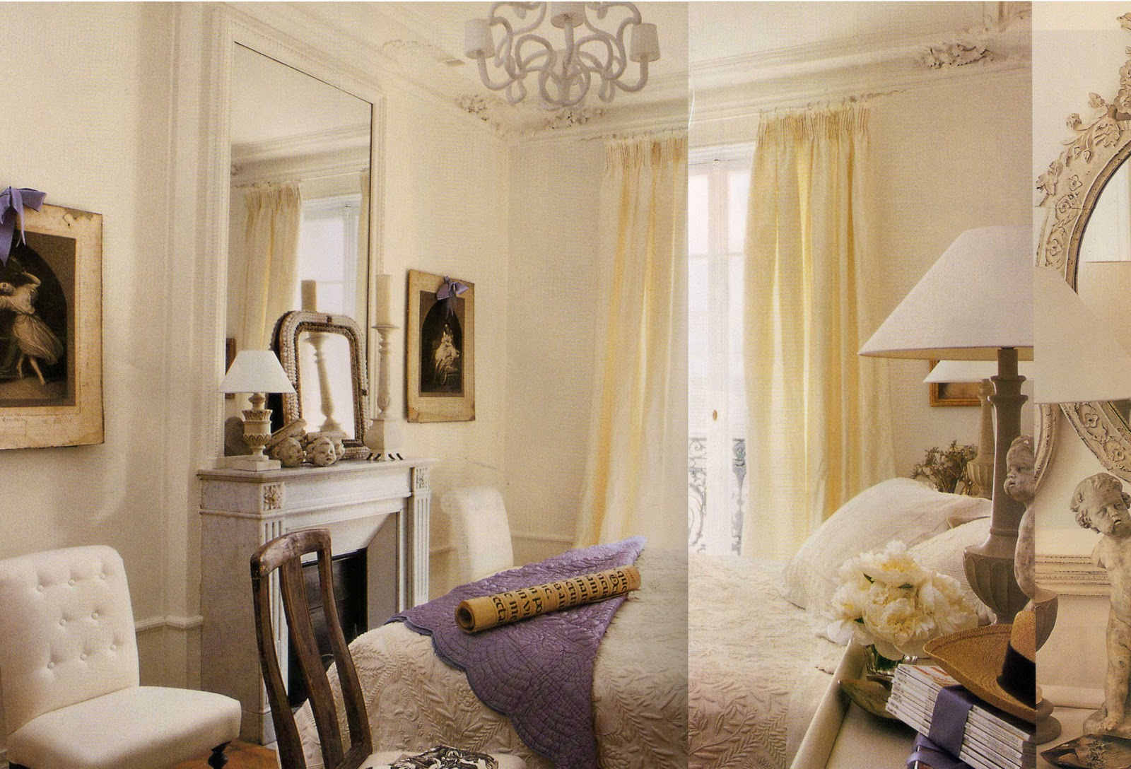 The last photo is of the guest room. The room is accented by touches title=