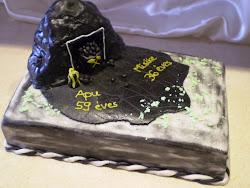 Bányász torta