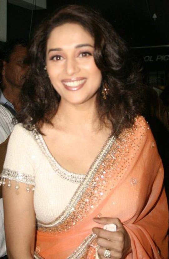 Madhuri Dixit Saree | newhairstylesformen2014.com