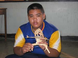 weave animal ,bamboo