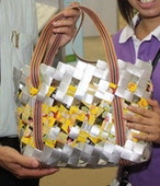 make bag from milk juice carton  tutorial