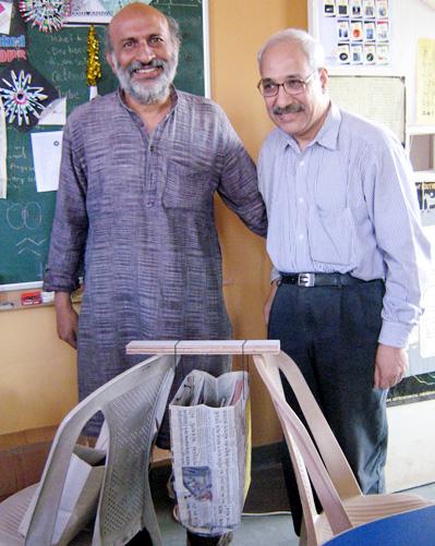 รีไซเคิล ใช้แล้ว พับถุง ใช้หนังสือพิมพ์ พับกระดาษ