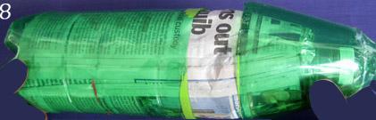 ทำขวดน้ำเย็น ของใช้แล้ว ขวดพลาสติก ใช้ซ้ำ  รีไซเคิล  diy cómo hacer barato fácil de botella fresca recraft reutilizar botellas de plástico, botella más barata idea reutilización viejo plástico