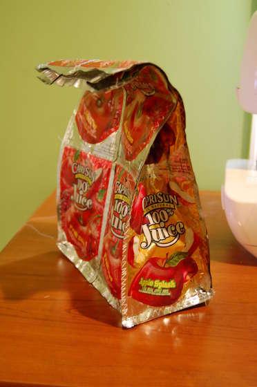 ทำถุงหิ้ว รีไซเคิล ซองขนม ถุงขนม ของใช้แล้ว ลดขยะ ทำเอง DIY