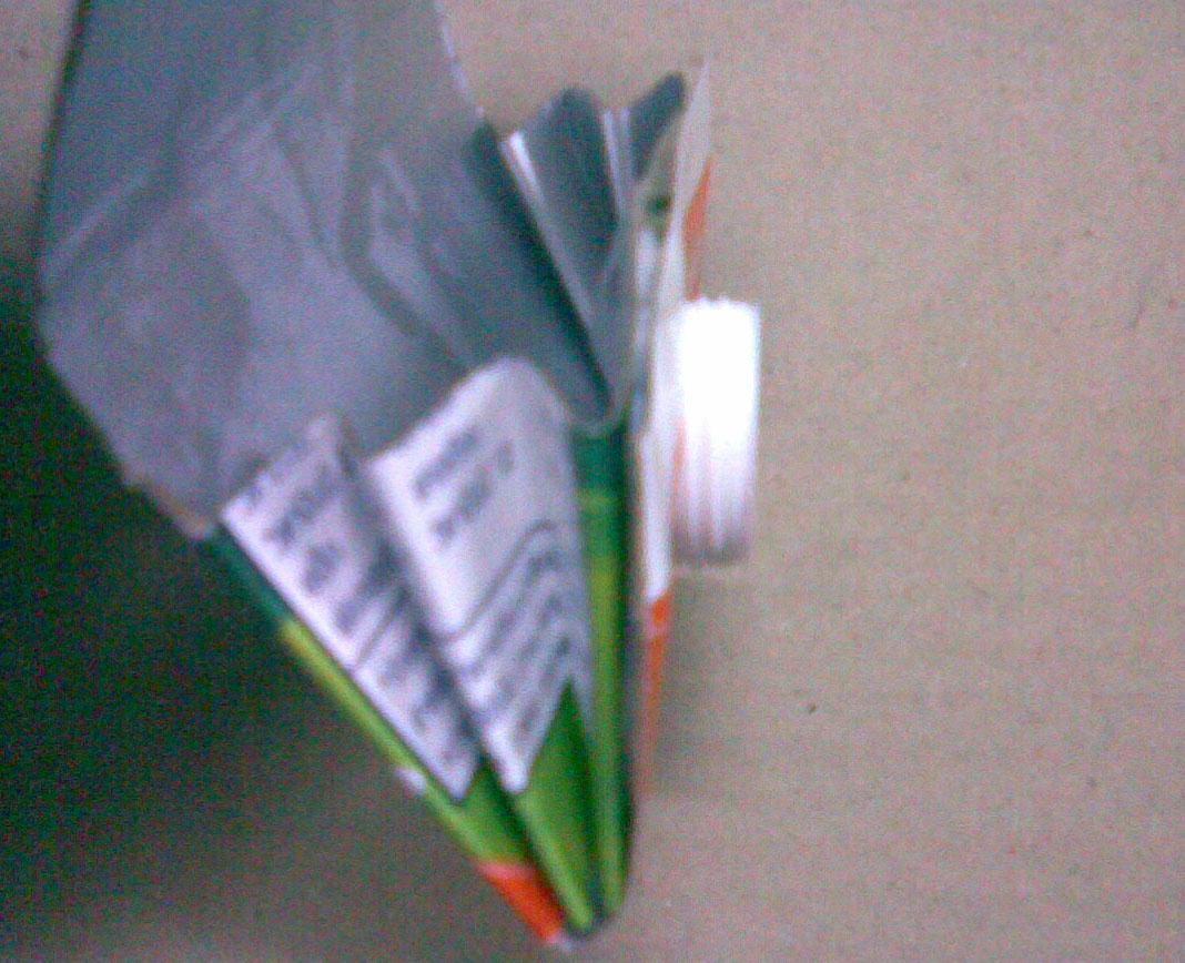 วิธีทำกระเป๋า กล่องนม,กล่องกระดาษ