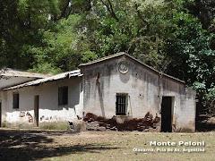 Centro clandestino de detención y tortura.Monte Peloni
