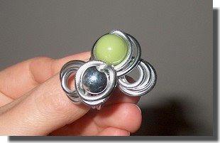 anel verde
