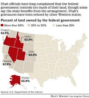 Map us government owned land