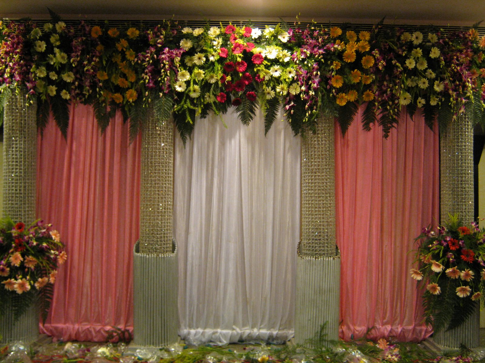 Flower Decor Enchanting Of Indian Wedding Decorations Flowers Photos