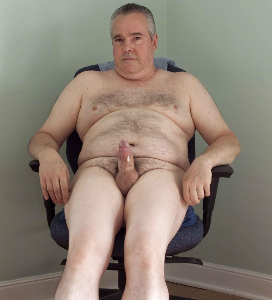 nude old men at home