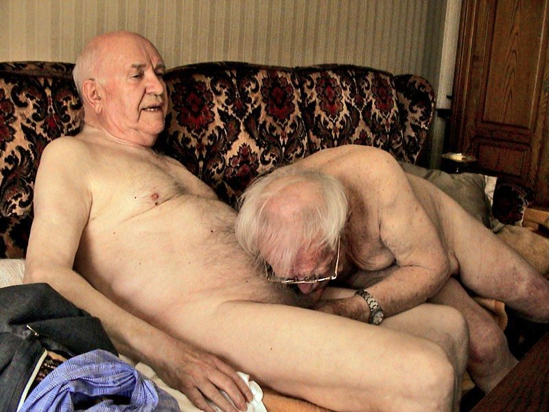Nude Old Men