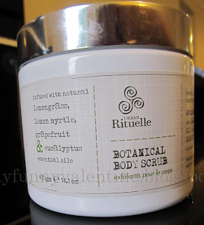 Urban Rituelle Botanical Body Scrub review on Saturday Skin Care