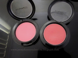 MAC Pink Swoon, MAC Posie blushcreme