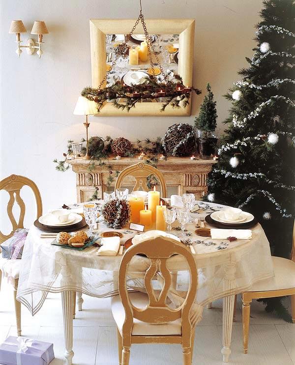 Дом Квартира: Сервировка и украшение новогоднего стола