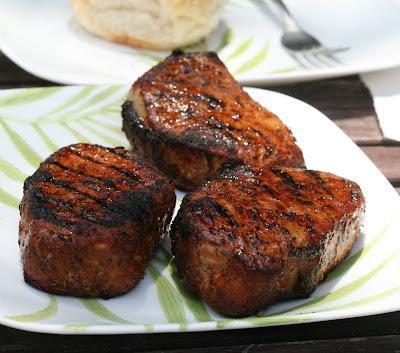 Barbecue pork chop sandwich recipe