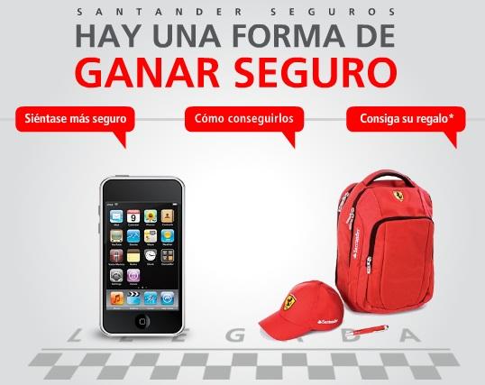 Creditos hipotecas regalo ipod con seguros de banco santander for Oficina directa pastor