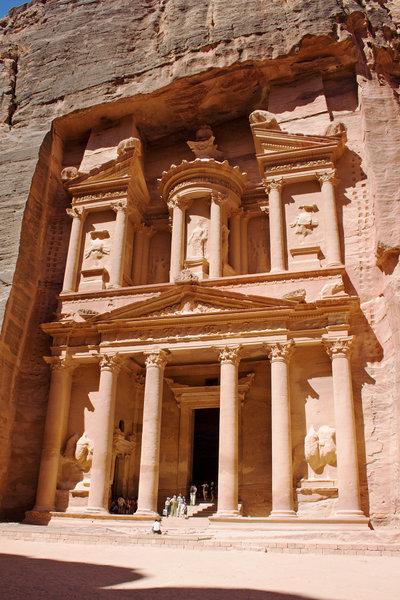 La Ciudad de Petra - 7 maravillas del mundo moderno