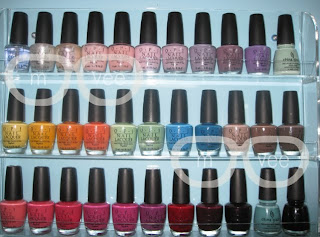 OPI nail polish collection