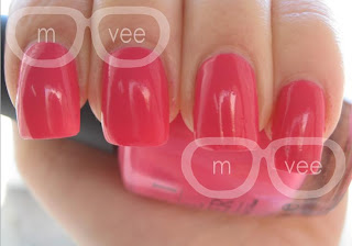 Strawberry Margarita swatch@ milanandvanaily