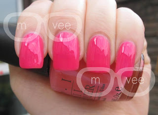 opi elephantastic pink @ milanandvanaily