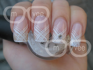 OPI's Bubble Bath & Konad Image Plate m81 @ milanandvanaily