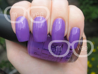 OPI - A Grape Fit! @ milanandvanaily