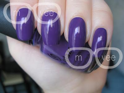 China Glaze Dark Purple Creme