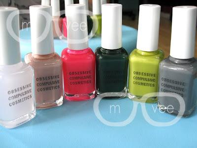 Obessive Compulsive Disorder nail polish