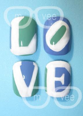 andy warhol love nails