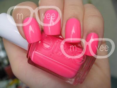Essie Pink Parka