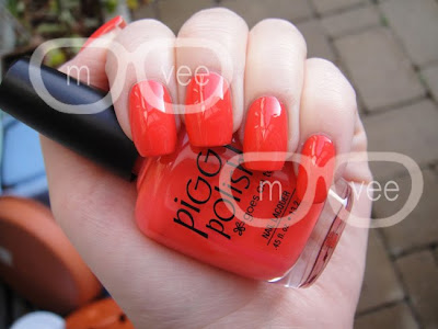 Piggy Polish better off red swatch