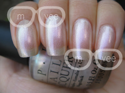 OPI Hong Kong collection pearl of wisdom swatch