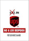 RECOGIDA DE FIRMAS POR LA READMISIÓN DE LOS DESPEDIDOS EN UPS VALLECAS