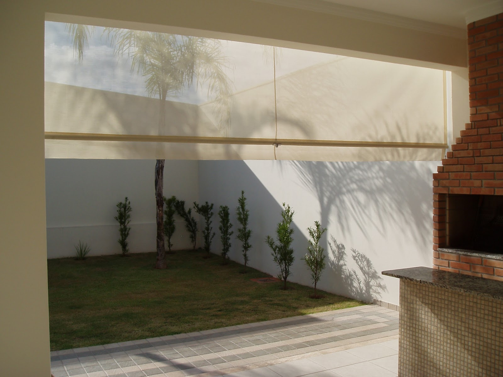 Toldos cortinas em tela solar for Tela para toldos