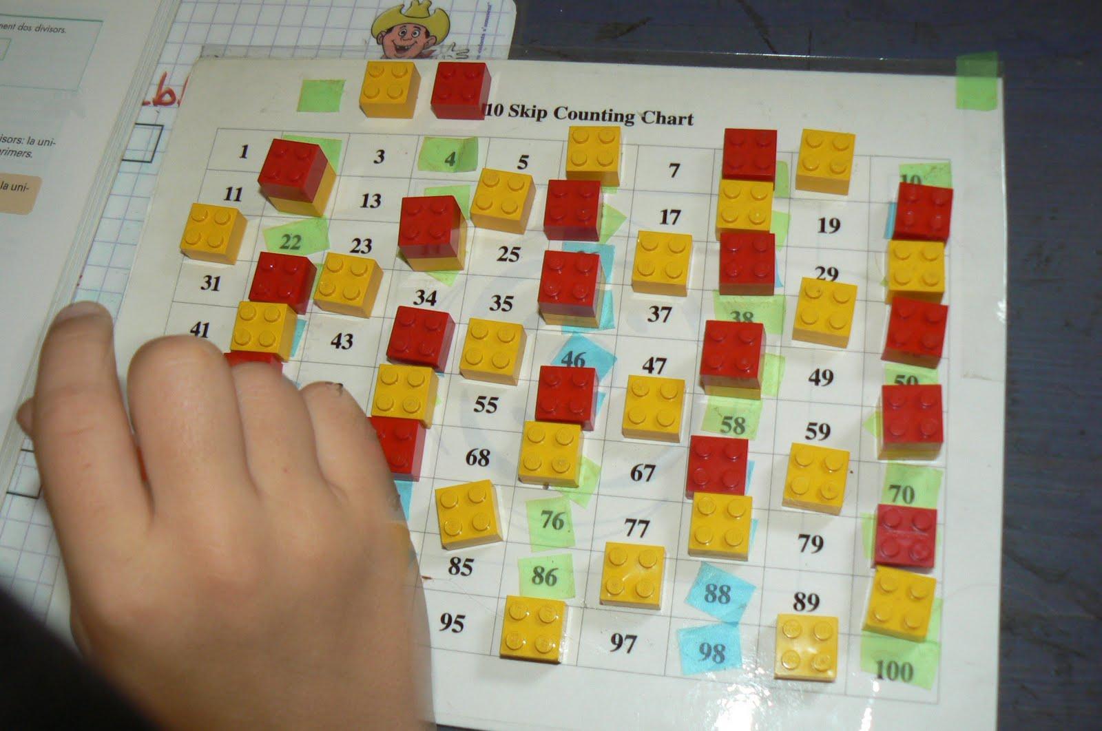 Orca observar recordar crecer y aprender multiples divisores un lego blanco en todos los mltiples de 6 negro en 7 verde en 8 gris en 9 beige en 11 no pusimos en los multiples de 10 porque ya estaban cubiertos de urtaz Images