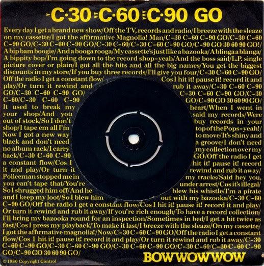Bow Wow Wow - C·30 C·60 C·90 Go!