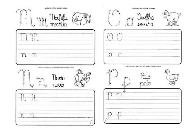 Alfabeto Duplo Com Letras Cursivas Alfabeto Letra Cursiva
