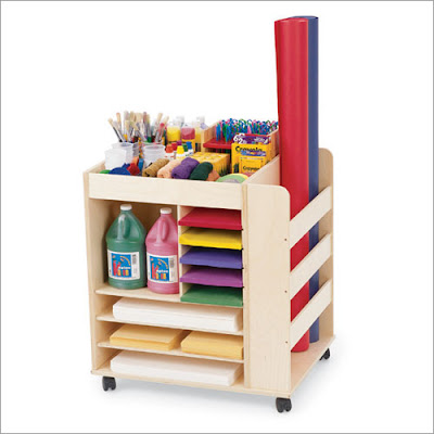 Creative kids furniture for Children s arts and crafts supplies