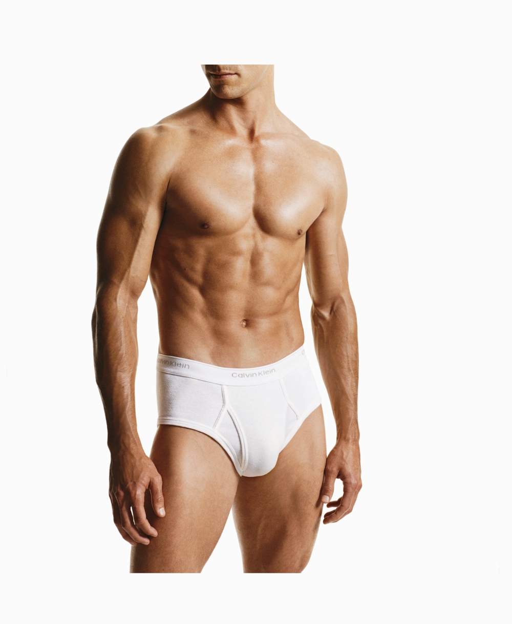 These Calvin Klein Basics Briefs are in an allround great value three pack