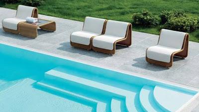4udecor design de interiores mobiliario de jardim piscina for Mobiliario piscina