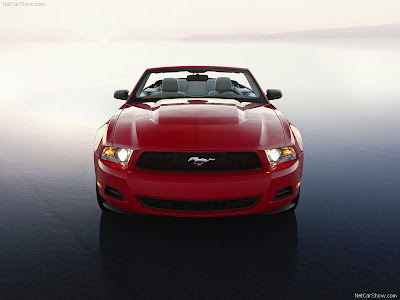 2010 mustang wallpaper. 2010 Ford Mustang Convertible.