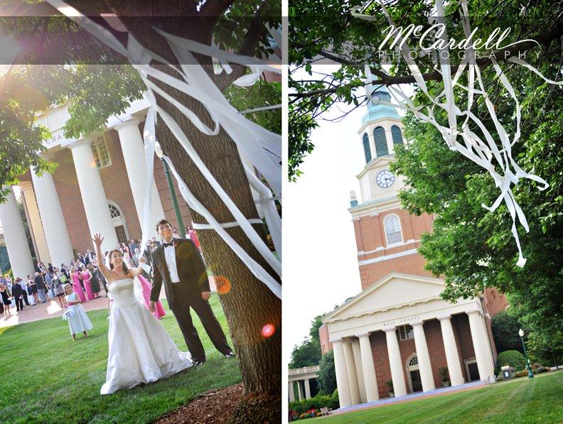 Graylyn wedding photographs