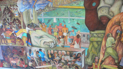 Centre for the aesthetic revolution diego rivera for Diego rivera mural in san francisco
