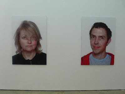 This Town Again', slapped art figures (Vicky Hughes and Mark Sladen