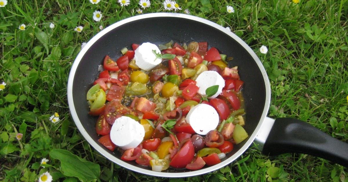 barbaras spielwiese tomaten mit ziegenk se. Black Bedroom Furniture Sets. Home Design Ideas