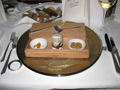 Lafers Stromburg: Kleiner Gruß des Küchenteams