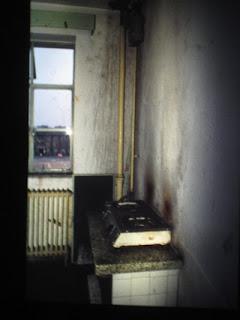 Küche im Studentenwohnheim in Tianjin 1990-91