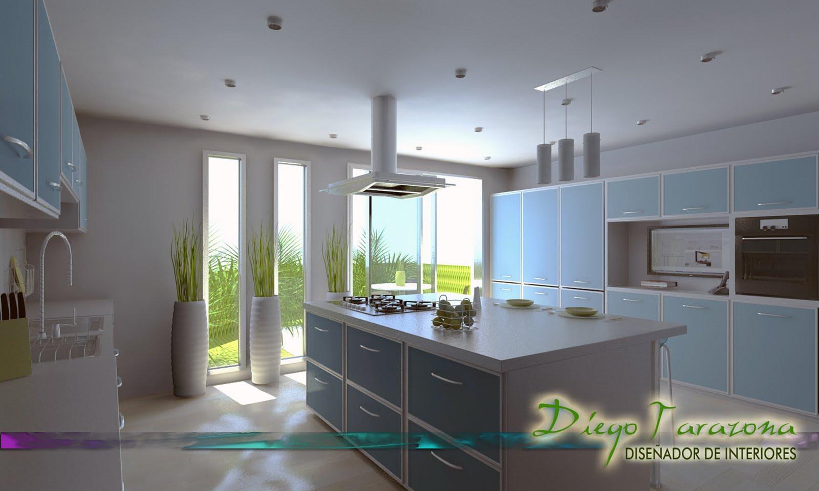 Portafolio diego tarazona dise ador de interiores cocina - Disenador de cocinas online ...
